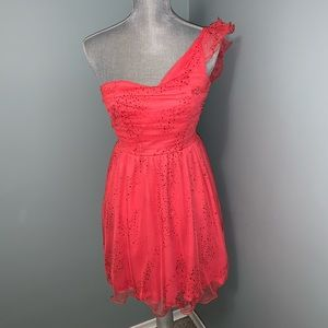 Salmon colored BCX Party prom Dress size 1